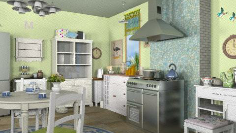 New kitchen_2 - Rustic - Kitchen - by milyca8