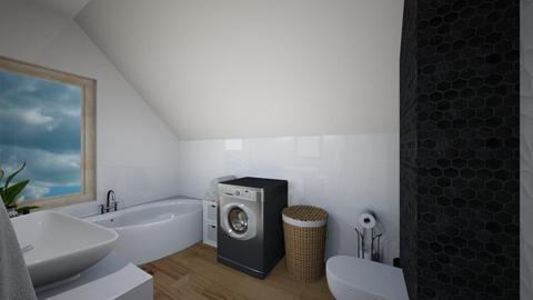 lazienka widok z drzwi - Bathroom - by tbasiek