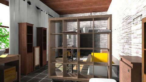 saladeban4 - Rustic - Bathroom - by izarochaa