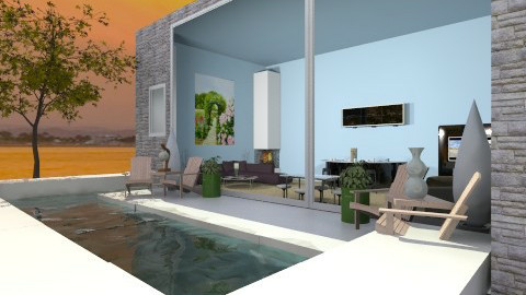 Pool - Vintage - Garden - by HGranger2