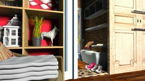 dorm room - Modern - Bedroom - by dezhero