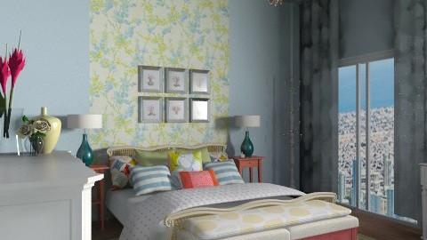 MasterBedroom - Eclectic - Bedroom - by jenshadow_222