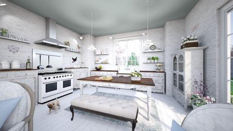 shabby kitchen 2 - Kitchen - by Chiara Amadei