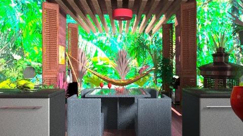 Treehouse Kitchen - Global - Kitchen - by missjojo