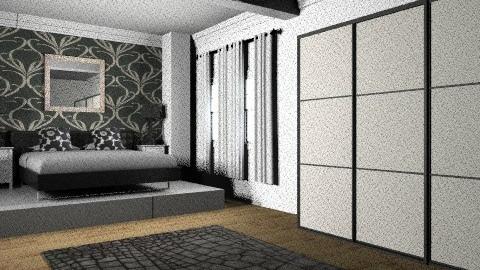 Classy - Modern - Bedroom - by AmyMcGrane