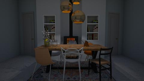 Dining room - Modern - Dining room - by Annathea