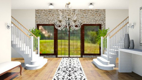 entrance - Modern - by Manoor Ali