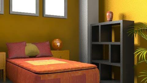 Bedroom2 - Retro - Bedroom - by PomBom