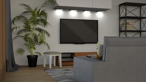 Evening Television - Modern - Living room - by millerfam