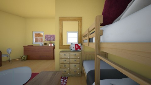 dorm room - by AilexFer