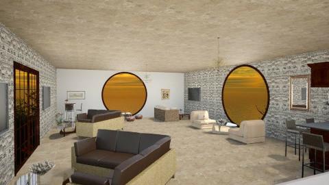 Brown Bar - Living room - by ReneaaQ