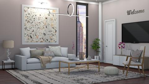 IP Terrazzo - Living room - by lovedsign