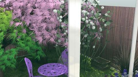 kitchen interior garden - Minimal - Kitchen - by kiadeco