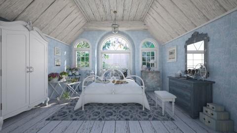 Old Garden Dreams - Bedroom - by Violetta V