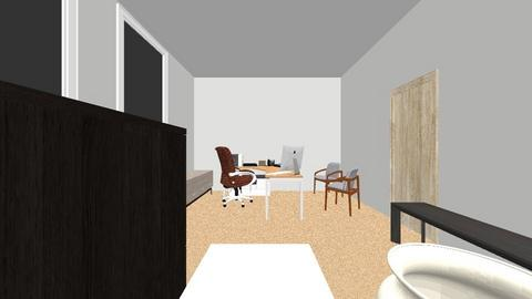 current office layout - Office - by adaggy