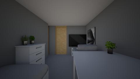 Rum i kallaren - Modern - Bedroom - by NotHindu