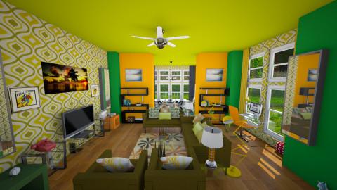 ReTro LiVing - Retro - Living room - by DiamondJ569