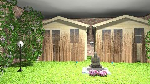 Buddhist retreat center - Eclectic - Garden - by sacerdote