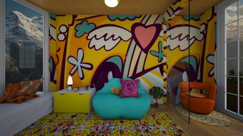 Hippie Home - Glamour - Living room - by Applestyler