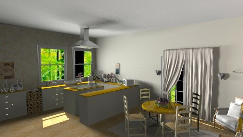 small small - Country - Kitchen - by nico3