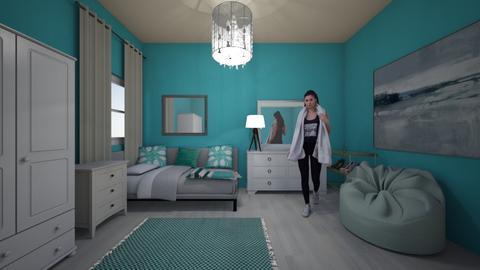 blu - Bedroom - by 17rhughes