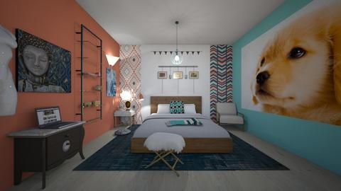 Aztec - Bedroom - by Jenna the great