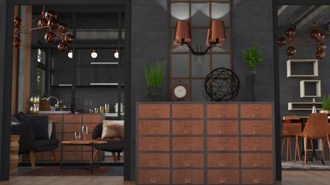 Copper Char - Modern - Kitchen - by Jessica Fox