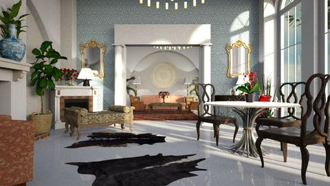 Circular - Living room - by ZuzanaDesign
