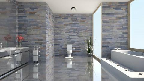 bathroom4 - Modern - Bathroom - by mariaemiliahltm