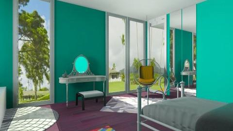 Teenage Bedroom - Modern - Bedroom - by Jacquie Ru