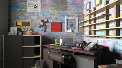Personal office - Minimal - Office - by Designerloft