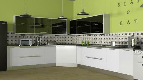 Retro Kitchen  - Retro - Kitchen - by reedj0218