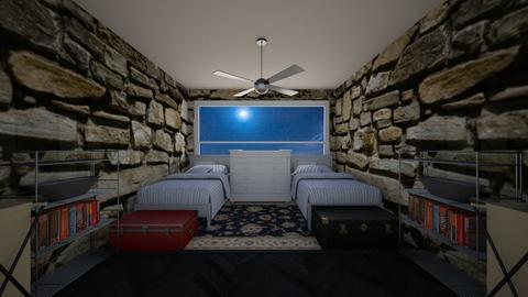 rogue dorm - Bedroom - by scourgethekid