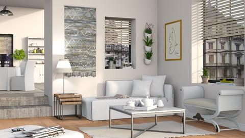 Neutrals 2 - Living room - by Sally Simpson