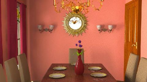 Executive Dinner - Dining Room - by Jann F