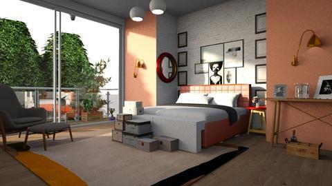cd - Bedroom - by BortikZemec