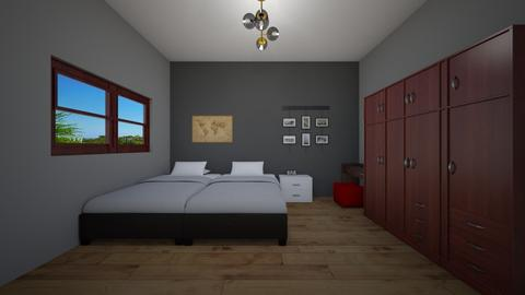 Craig Willemse 2 - Minimal - Bedroom - by Clint Pillay
