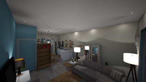 langezandstraat - Living room - by FinnMagendans