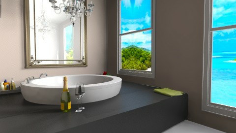 room for two - Glamour - Bathroom - by Georgieex