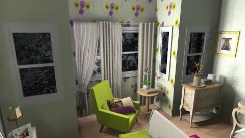 OliveEggplant - Glamour - Bedroom - by yonvie