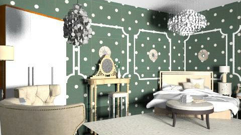 Glam, Luxury Room. - Glamour - Bedroom - by natural11