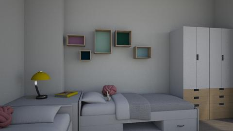 Ginny - Kids room - by laura suino