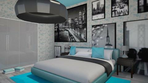 Blue sky - Modern - Bedroom - by Teti