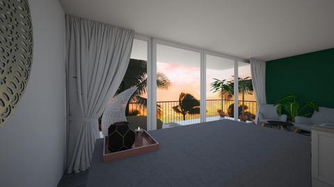 Tropical Balcony - by noorjuliavanwalree