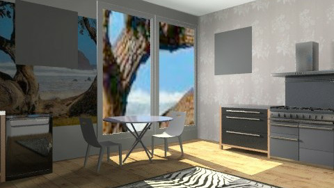 kitchen - Modern - Kitchen - by AmyMcGrane