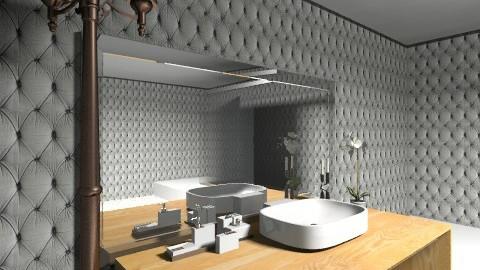 modern bathroom - Modern - Bathroom - by mslmkus