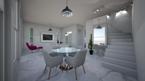 casa rk - Glamour - Living room - by kelly lucena