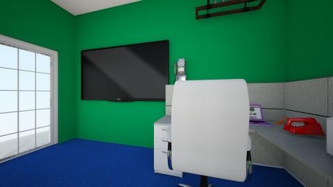 Retro 50s room - Retro - Office - by Sdoyle23