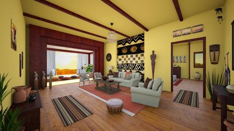 Africa - Living room - by ArtHousedeco