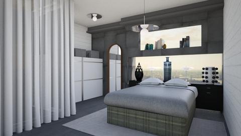 Simple checks  - Minimal - Bedroom - by The quiet designer